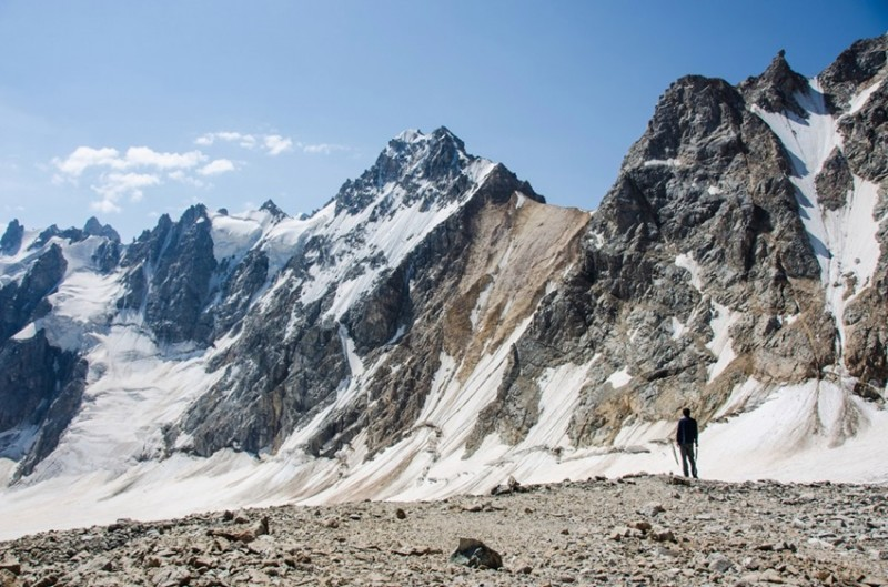 гора и ледник Скаттиком
