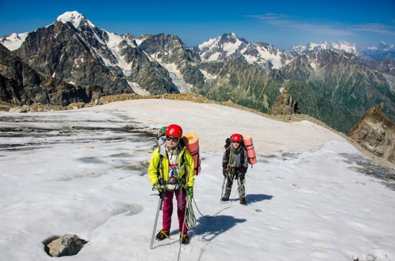 предперевальный ледник Воологата
