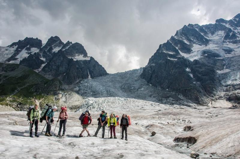 Караугомский ледопад