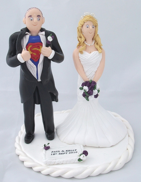 Superman-Wedding-Cake-Topper-photo