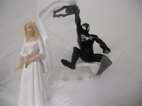 Spiderman-Wedding-Cake-Topper-picture