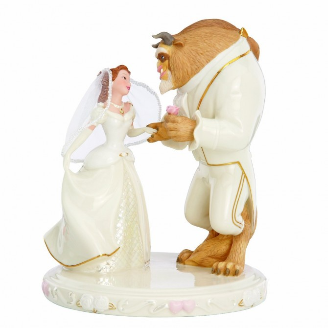 Best-Lenox-Beauty-and-the-Beast-Wedding-Cake-Topper