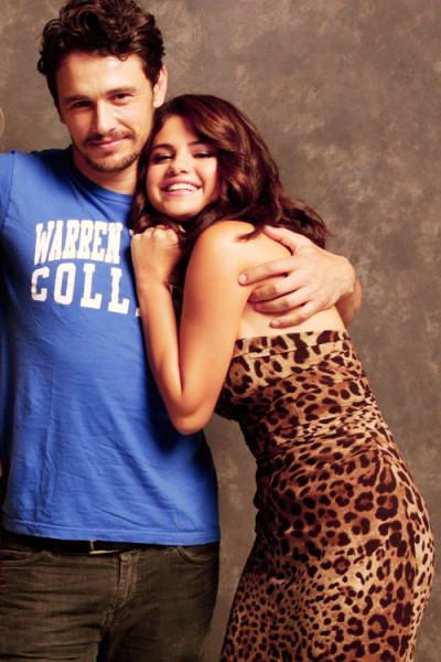 James Franco loves Selena Gomez! Grams about her twice in ...