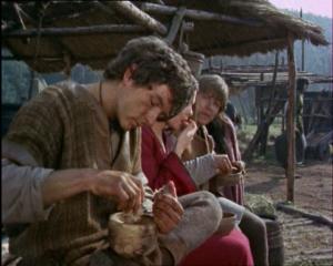 Rolf brings food (2)