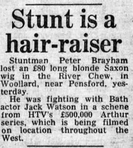 Stunt is a hair-raiser