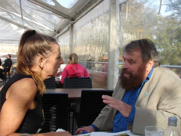 Meeting with Brian Blessed