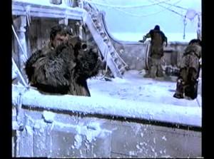 Ice breaks