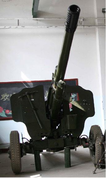 Тип 83 122мм (в музее)