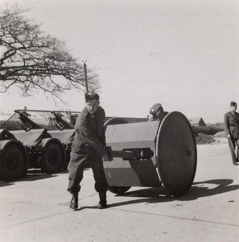 Пушка Смита (транспортировка вручную)