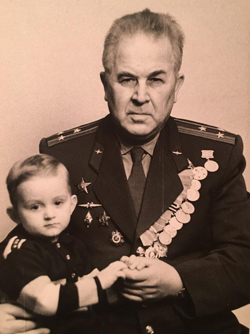 Полковник авиации Лось Леонид Иванович