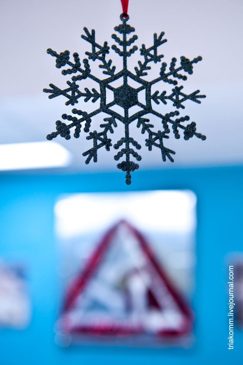 Новогодняя снежинка ТРИА