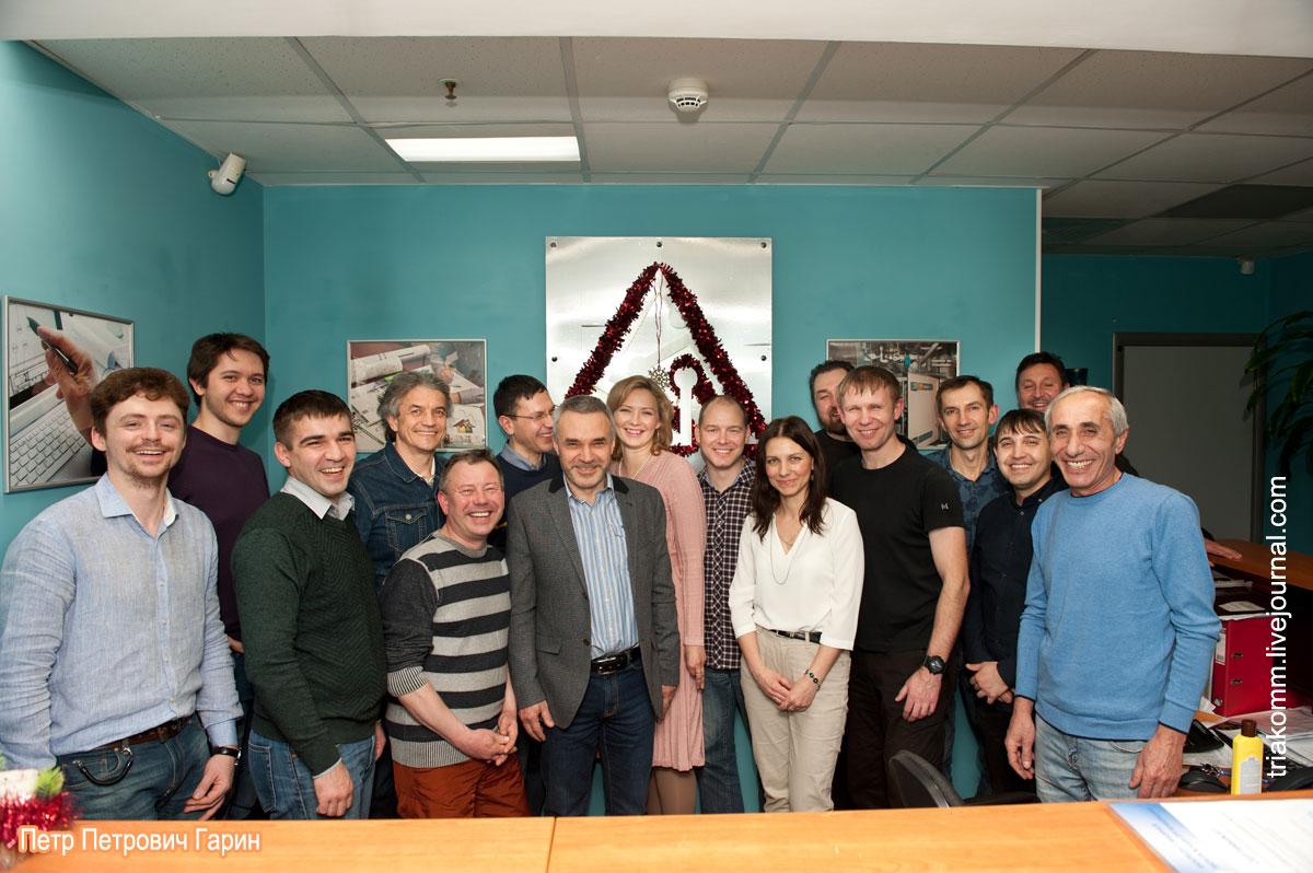 Новый год в офисе компании «ТРИА Комплекс инженерных систем»