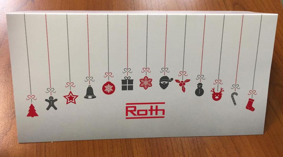 Поздравление с Рождеством от немецкой компании Roth