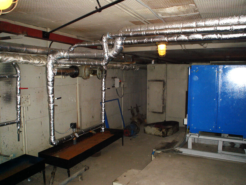 Фото 2. Так выглядит обвязка вентиляционного агрегата