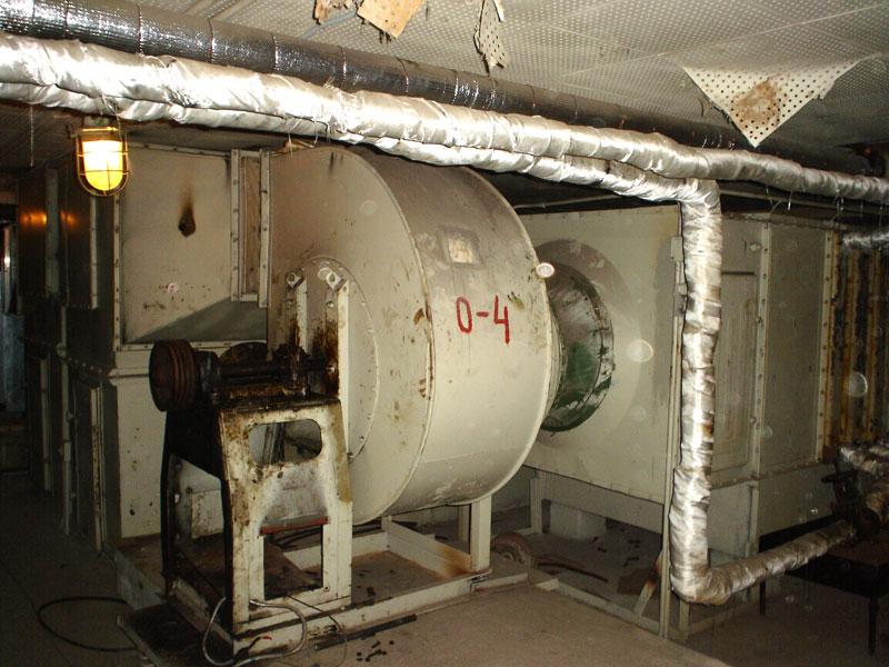 Здесь раньше стоял двигатель приточной установки