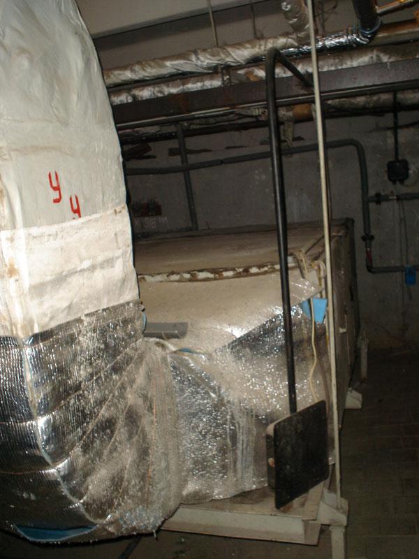 Фотографии оборудования теплового пункта музея