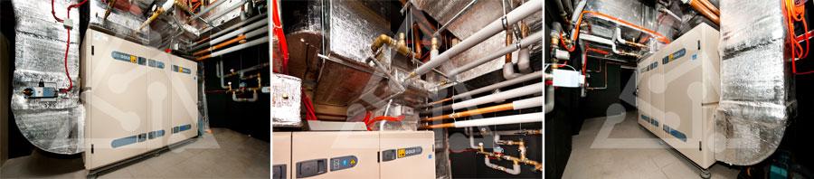 Система приточно-вытяжной вентиляции с рекуперацией на базе Swegon Gold