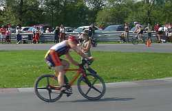 Bike corneing video