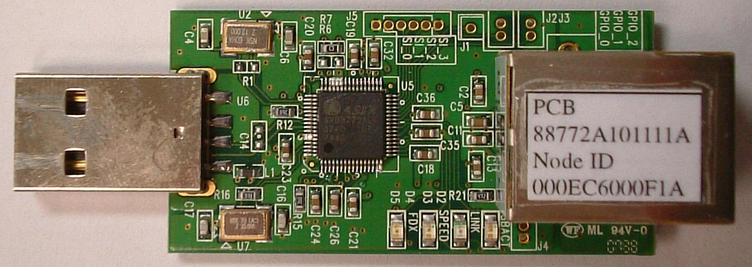 AX88772A_DemoBoard_FrontSide1