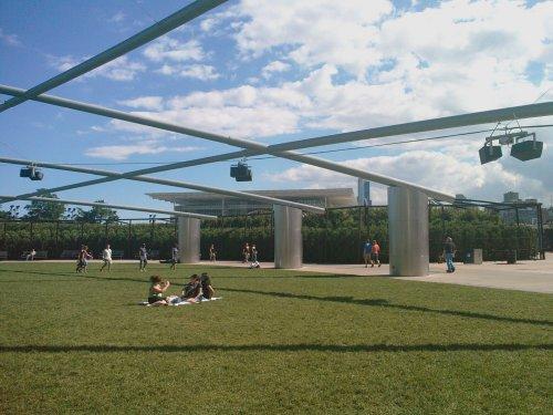 Millennium Park amphitheater - alternate view