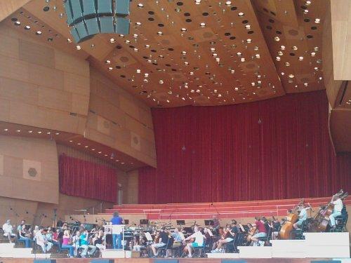 Grant Park Orchestra rehearses