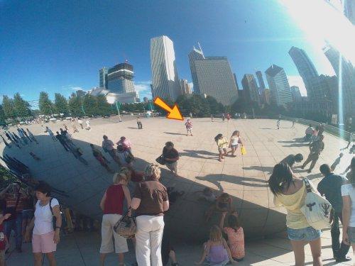Millennium Park sculpture 2