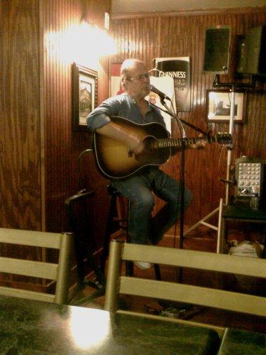 Rick Fannin plays at O'Brian's Pub in Troy.