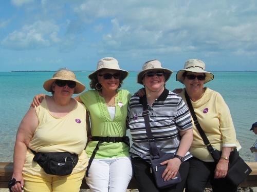Four Intrepid Explorers