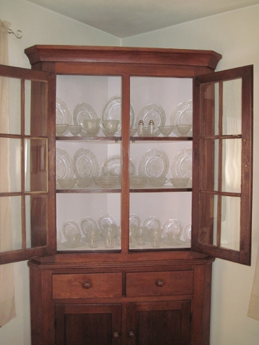 Cupboard and Dishes
