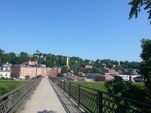 Galena from the Bridge