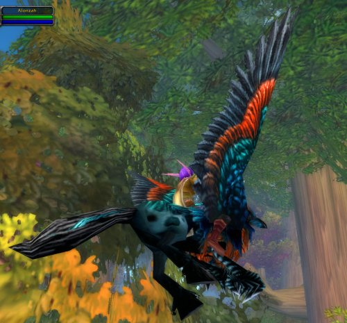 Flying in World of Warcraft