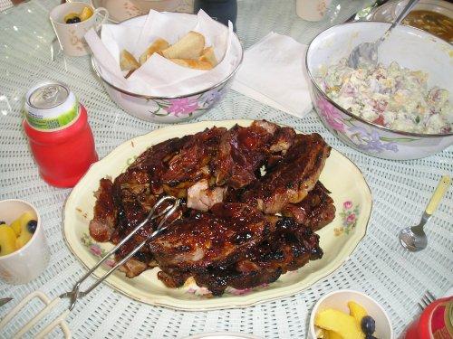 Mmmm, ribs!