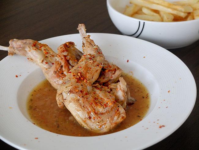 pollo al cognac