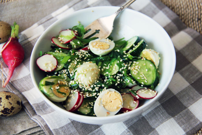 с чукой салатов Рецепты