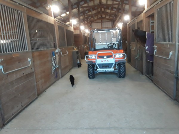 rtv in barn
