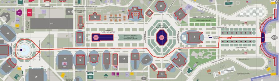 Арка Главного входа - площадь Промышленности
