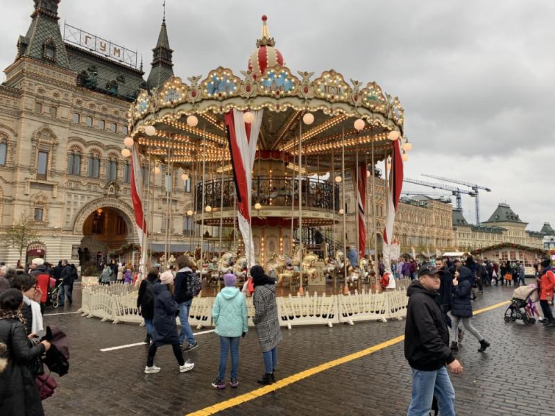 Праздник Золотая Осень на Красной площади