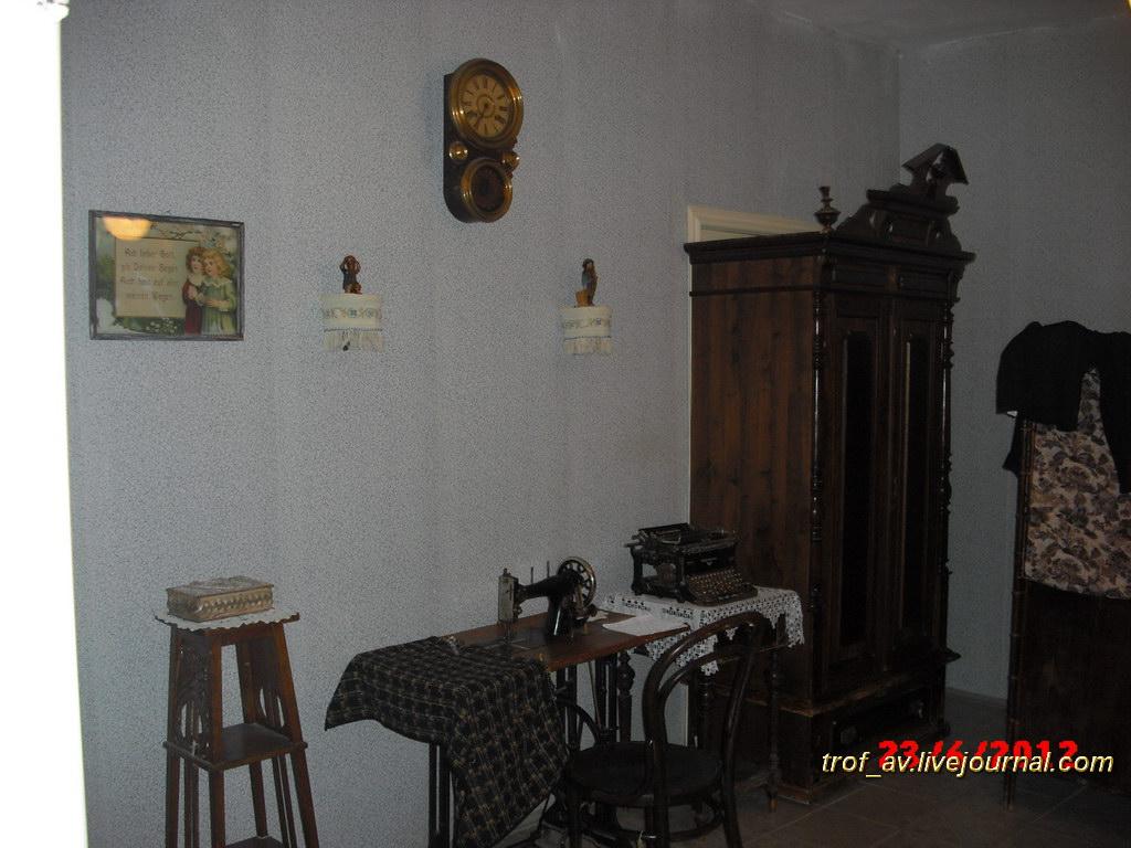 Спальня в доме сарептского аптекаря