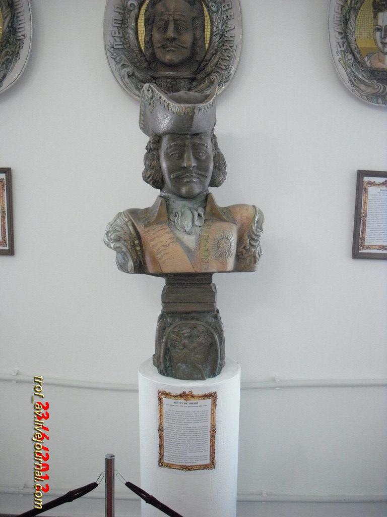 Выставка бюстов императоров и императриц Российской Империи