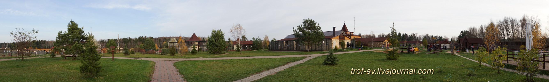 """Парк птиц """"Воробьи"""", панорама"""