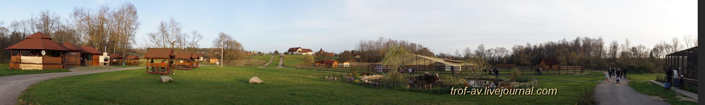 """Парк птиц \\""""Воробьи\\"""", панорама"""