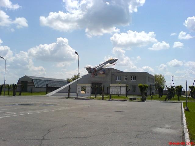 Воинская часть возле Волгограда. Самолет