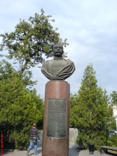 Ростов. Памятник Буденному