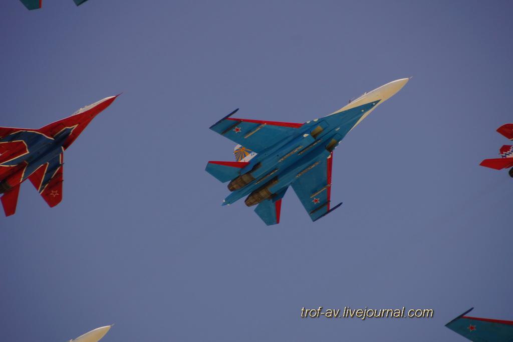 Парад Победы 2013 (генеральная репетиция), авиация