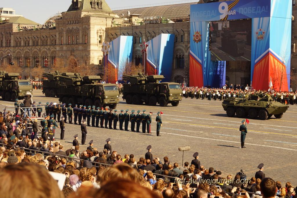 Парад Победы 2013 - военная техника (репетиция)