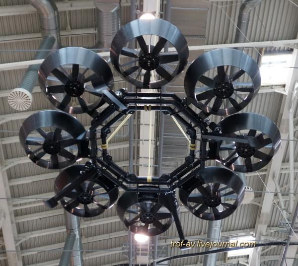 Беспилотные летательные аппараты вентиляторного типа Air