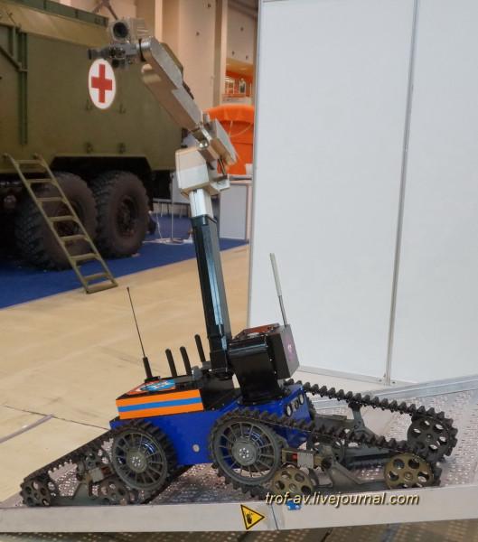 Мобильный робототехнический комплекс TeleMAX