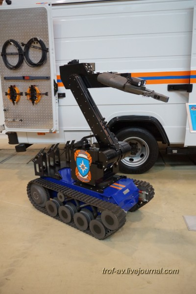 Мобильный робототехнический комплекс Teodor