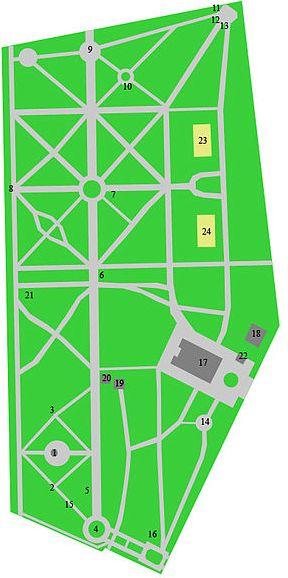 план Мемориально-парковый комплекс героев Первой мировой войны