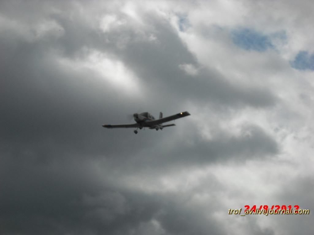 Демонстрационные полеты поршневой авиации